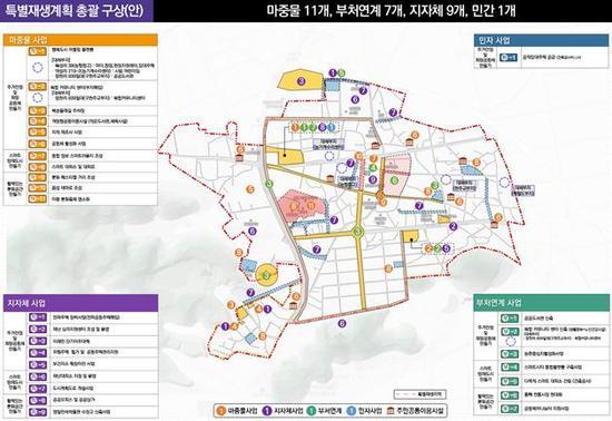 생활SOC 등 전국 14곳 도시재생 지원계획 확정