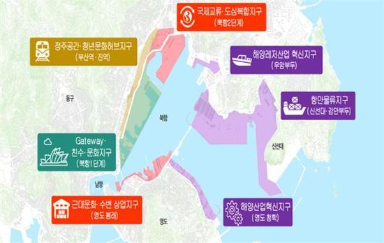 부산항 북항 일대 통합개발 '실무협의회' 출범