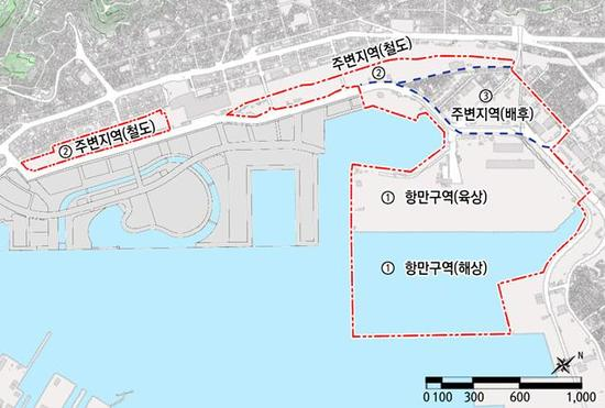 부산 북항 2단계 '항만재개발사업' 사업시행자 공모