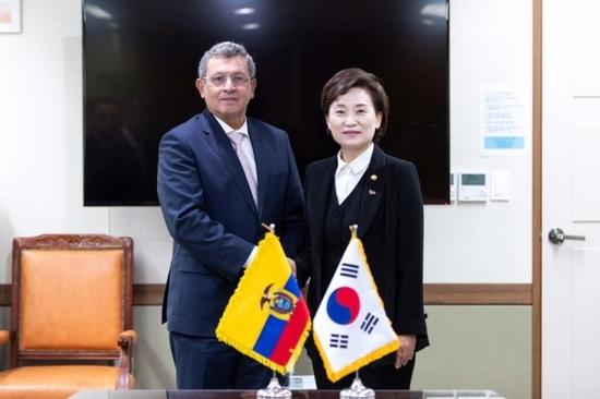 김현미 장관, 사우디아라비아 인프라 건설 수주지원