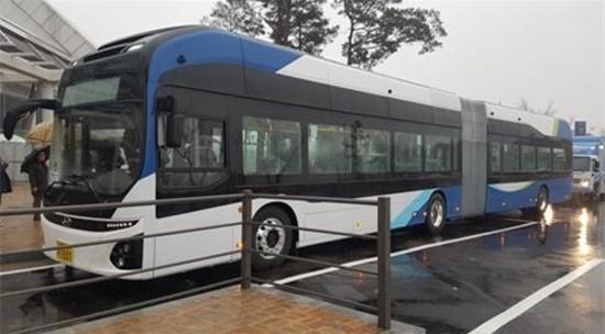 전국 최초 전기굴절버스, 23일부터 세종시 운행