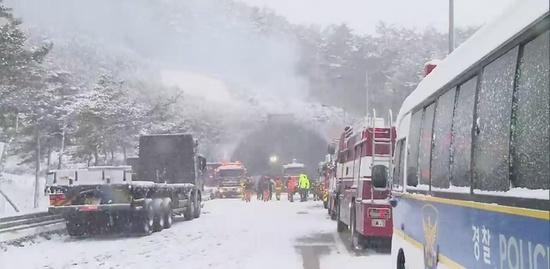 '사매 2터널'사고 사상자 총47명