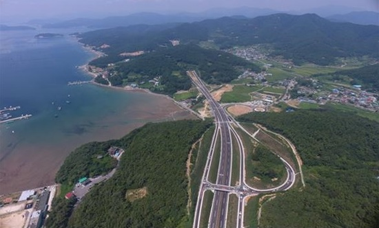 국도5호선 '거제~마산' 일부 구간, 13일 개통